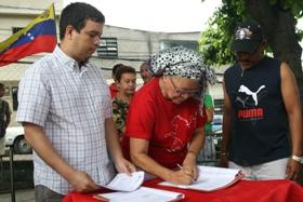 A través de convenio con la Alcaldía de Caracas