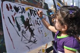 Actividades educativas en el Bulevar César Rengifo