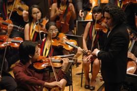 Homenaje al maestro Gustavo Dudamel