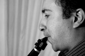 Clarinetista Javier Vinasco