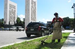 Limpieza en Los Próceres