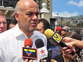 Alcalde de Caracas, Jorge Rodríguez, condecoró con la orden Juan Francisco de León