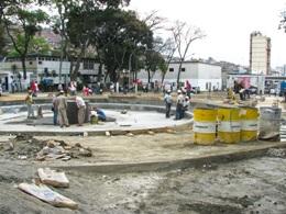 Trabajos de recuperación y remodelación de la Plaza