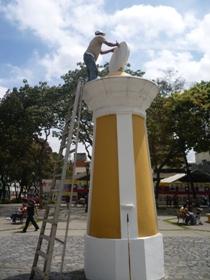 Embellecen la Plaza San Jacinto
