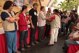 El alcalde Rodríguez fue el encargado de entregar estos reconocimientos