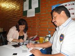 Durante la jornada, la comunidad pudo tramitar diferentes documentos