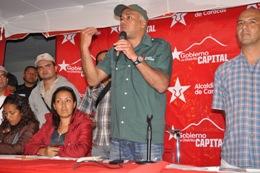 Jorge Rodríguez,  presidió la Asamblea Popular