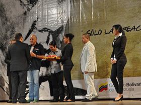 Roberto Azuaje fue el ganador del Premio Nacional de Dramaturgia César Rengifo