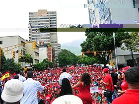 Caraqueños y caraqueñas repudiaron las medidas tomadas por Estados Unidos contra Venezuela