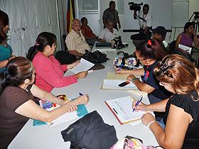 Consejos Comunales de La Candelaria se reunieron para evaluar los principales problemas que afectan a la comunidad