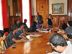 30 jóvenes de las diferentes parroquias de Caracas conformarán el Consejo Municipal de Voceros y Voceras de los Gabinetes Juveniles de la ciudad