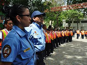 Catorce patrullas escolares de la parroquia La Vega hizo entrega de reconocimientos a los policías escolares