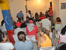 Más de 50 voceros pertenecientes a 8 Consejos Comunales fueron juramentados