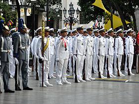En la ceremonia participaron autoridades de todo el tren ejecutivo del Estado Nacional y el Alto Mando Militar