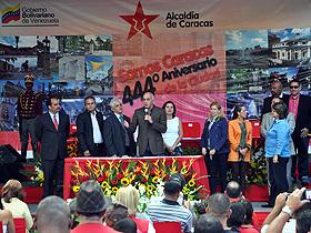 El Parque Ezequiel Zamora (El Calvario) fue sede del acto solemne de los444 años de la ciudad