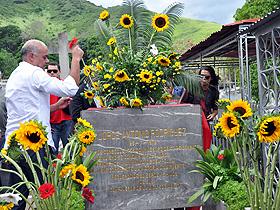 El Alcalde de Caracas, Jorge Rodríguez, rindió tributo a quien en vida fuese su padre