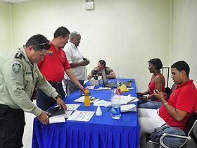 En el Terminal Socialista La Bandera se realizó una jornada Integral-Jurídica