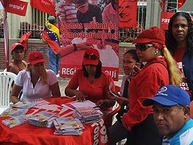 El PSUV cuenta con 2 millones de militantes registrados al partido