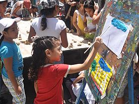 En la jornada, los niños y niñas realizaron diferentes actividades recreativas y culturales
