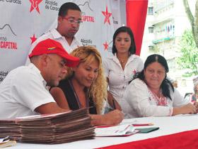 Se firmaron 62 convenios, para ser ejecutados bajo la supervisión del poder popular