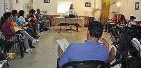 La idea es iniciar un taller de formación básica con el fin de promover la creación de los comités de familia e igualdad de género