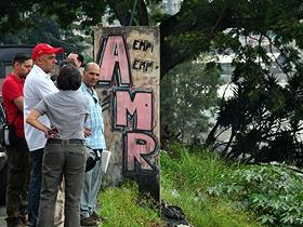 El Alcalde de Caracas supervisa los trabajos de recuperación que se hace en el municipio