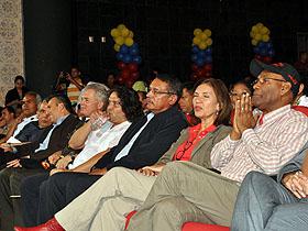 En el encuentro estuvieron presentes diferentes representantes gubernamentales