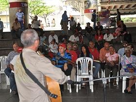 Comunidad de la parroquia Altagracia rindió un sentido homenaje al luchador cubano Julio César Guzmán Navas