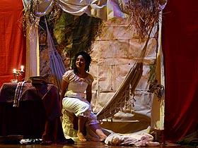 La pieza teatral fue protagonizada por Erika Sañarto