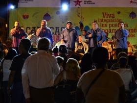 La Alcaldía de Caracas realizó un café bailable en la Plaza O`Leary con la participación de diferentes grupos de gaitas