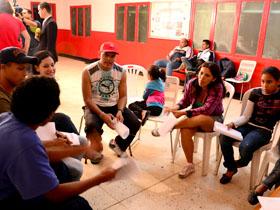 Las mesas se realizaron en las parroquias Sucre, El Junquito, Caricuao, Macarao y en la Universidad Bolivariana de Venezuela (UBV)