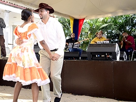 El pasodoble, el merengue caraqueño, la danza zuliana estuvieron presentes en el Centro de la Diversidad Cultural