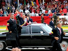 Presidente Hugo Chávez Frías conmemoró los 20 años de la rebelión cívico militar de 1992