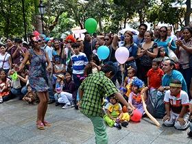 En el evento hubo una diversidad de actividades recreacionales