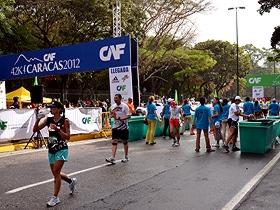 En el evento deportivo se pudo apreciar la asistencia del atleta venezolano Maickel Melamed