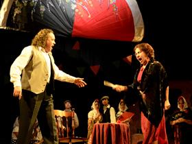 La pieza teatral sorprendió con lo mejor del arte lírico a los presentes