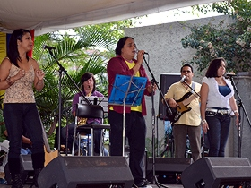 Canciones de Alí Primera formaron parte del repertorio musical que ofreció el joven cantautor Alí Alejandro Primera
