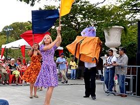 El Centro de Diversidad Cultural realiza todos los domingos actividades en el Paseo Los Próceres