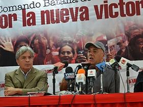 Jorge Rodríguez anunció lo que será la segunda etapa de la campaña electoral