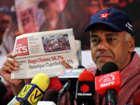 Las encuestadoras dan entre 25 y 30 puntos de preferencia al Comandante Chávez
