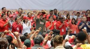 Jorge Rodríguez, señaló que la ultraderecha les robaban el voto al pueblo y cuando llegaban al poder, no solamente les daban hambre, miseria y represión