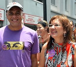 El Alcalde de Caracas y la Jefa de Gobierno del Distrito Capital cerraron el mes de la mujer en el Casco Central de la ciudad