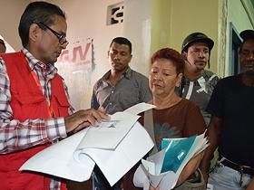 Durante la jornada, se observó la participación protagónica de los habitantes de la parroquia de Coche