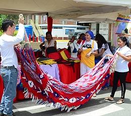 La Mega Jornada contó con productos hechos por artesanos venezolanos