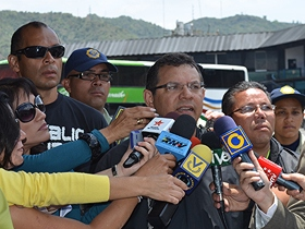 Luis Lira informó que se han movilizado más de 58 mil usuarios en las mil 716 unidades de transporte