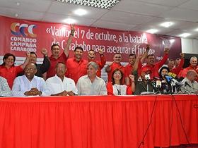 Jorge Rodríguez dio a conocer los 24 jefes estadales del Comando.