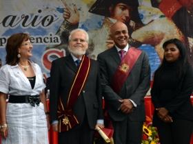 202 años de este hecho histórico de la apertura del arca que contiene el acta de independencia de Venezuela, que fue firmada el 19 de Abril de 1.810