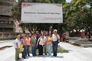 La parroquia El Valle va a contar con una Plaza Bolivar