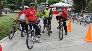 Los caraqueños participaron activamente en Plan Caracas Rueda Libre