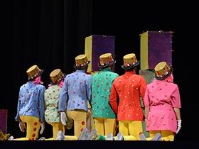 Mía y el Reino de los Caramelos, fue la encargada de hacer reír a todos los que acudieron al Teatro Nacional